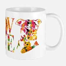 PITBULL LOVE Small Mugs