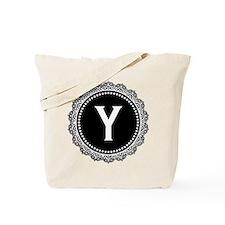 Monogram Medallion Y Tote Bag