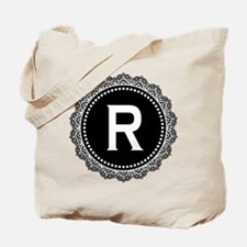 Monogram Medallion R Tote Bag