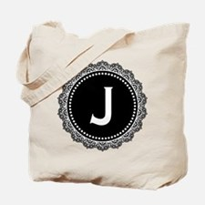 Monogram Medallion J Tote Bag