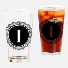 Monogram Medallion I Drinking Glass
