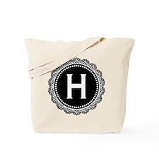 Monogram Medallion H Tote Bag