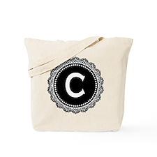 Monogram Medallion C Tote Bag