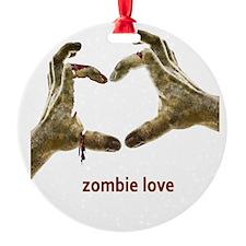 Zombie Love Ornament