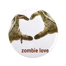 "Zombie Love 3.5"" Button (100 pack)"