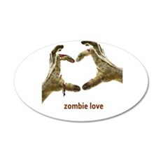 Zombie Love Wall Decal