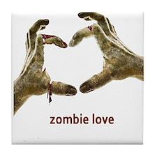 Zombie Love Tile Coaster