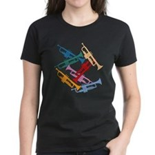 Colorful Trumpets Tee