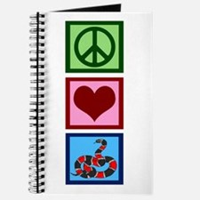 Peace Love Snakes Journal
