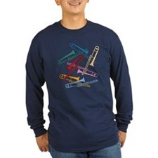 Colorful Trombones T