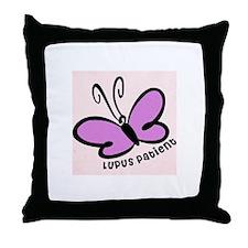 Lupus Patient Throw Pillow