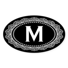 Monogram Medallion M Decal