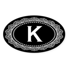 Monogram Medallion K Decal