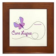 Cure Lupus Framed Tile