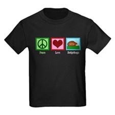 Peace Love Hedgehogs T