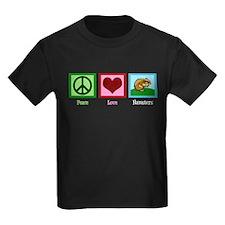 Peace Love Hamsters T