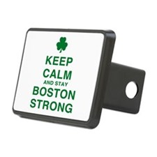Keep Calm and Boston Strong Hitch Cover