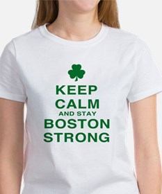 Keep Calm and Boston Strong Tee