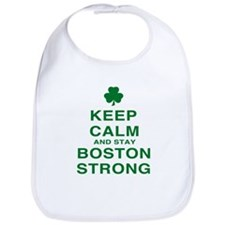 Keep Calm and Boston Strong Bib