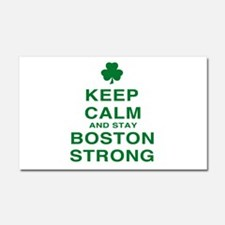 Keep Calm and Boston Strong Car Magnet 20 x 12