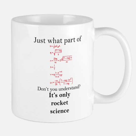 Rocket Science Small Mug