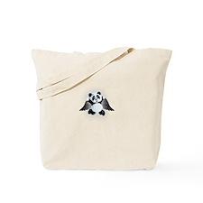 little panda angel Tote Bag