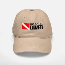 Rescue Diver Baseball Baseball Baseball Cap