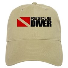 Rescue Diver Baseball Baseball Cap