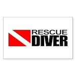 Rescue Diver Sticker