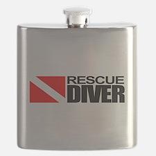 Rescue Diver Flask