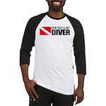 Rescue Diver Baseball Jersey