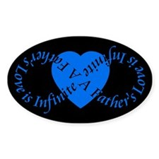 Fathers Love Infinite Fathers Day Decal