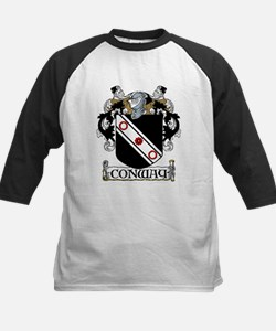 Conway Coat of Arms Kids Baseball Jersey