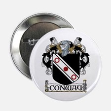 "Conway Coat of Arms 2.25"" Button (10 pack)"