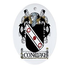 Conway Coat of Arms Ornament (Oval)