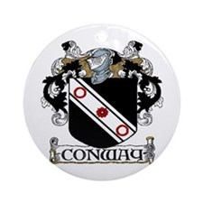 Conway Coat of Arms Ornament (Round)