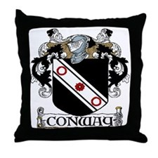 Conway Coat of Arms Throw Pillow