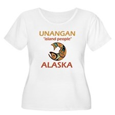 UNANGAN Plus Size T-Shirt