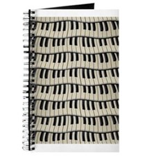 Rock And Roll Piano Keys Journal