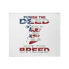 PIT BULL AF1.2 Throw Blanket