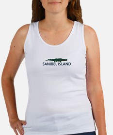Sanibel Island - Alligator Design. Women's Tank To