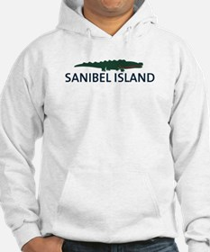 Sanibel Island - Alligator Design. Jumper Hoody
