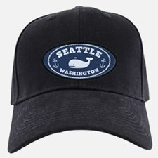Seattle Whale Baseball Hat