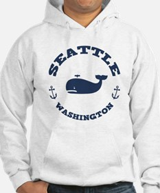 Seattle Whale Jumper Hoody