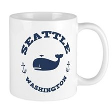 Seattle Whale Mug
