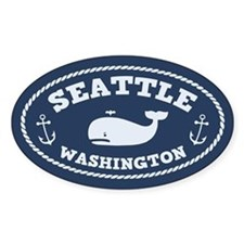 Seattle Whale Decal