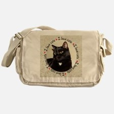 Unique Cats Messenger Bag