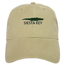 Siesta Key - Alligator Design. Baseball Cap