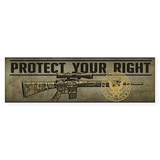 Protect Your Right Bumper Sticker