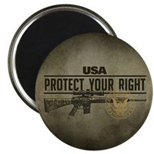 """Protect Your Right 2.25"""" Magnet (10 pack)"""